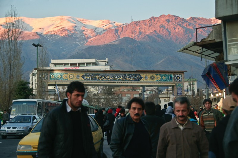 Dawn on Teheran