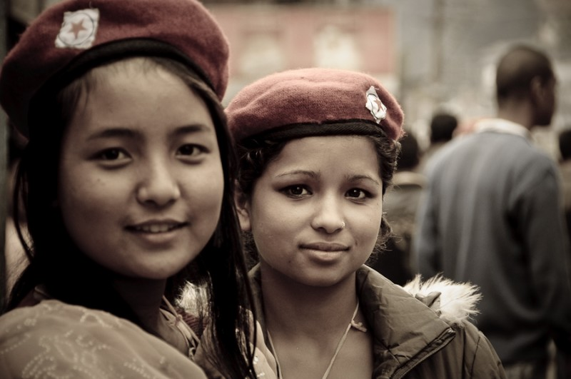 Gorghaland female fighters for independence